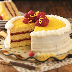 Raspberry Lemon Cake Recipe