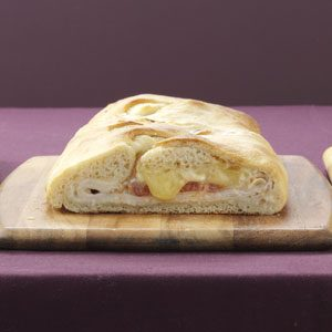 Turkey-Brie Stromboli Recipe