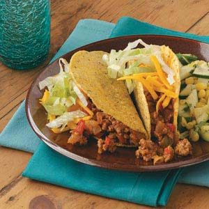 Three-Chili Turkey Tacos Recipe