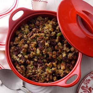 Cranberry Pear Stuffing Recipe