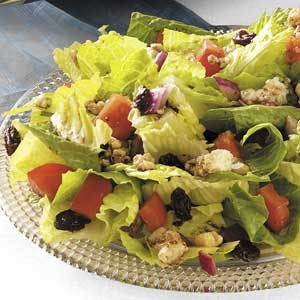 Quick Colorful Tossed Salad Recipe