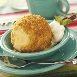 Cornflake Fried Ice Cream Recipe