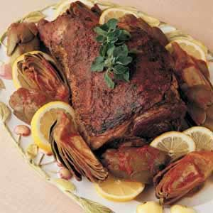 California Roast Lamb Recipe