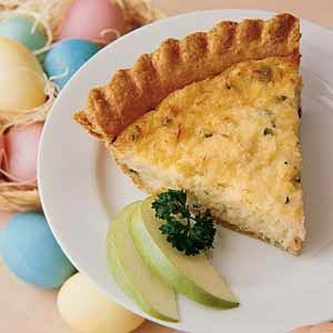 Winning Crab Quiche Recipe