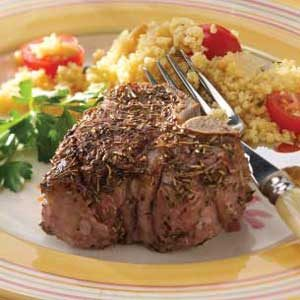 Rosemary Lamb Chops Recipe