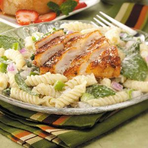 Blackened Fish Salad