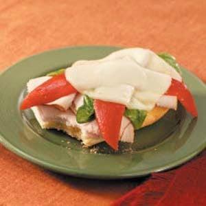 Provolone Turkey Sandwiches Recipe
