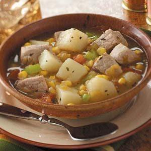 Pork Green Chili Stew Recipe