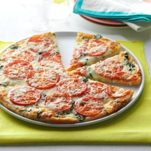 Spinach Pizza Recipe