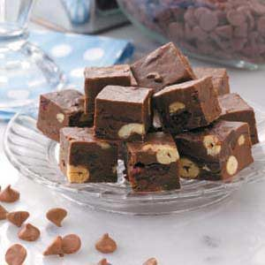 Chunky Fruit 'n' Nut Fudge Recipe | Taste of Home