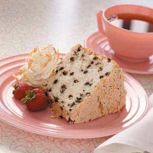 Chippy Macaroon Angel Cake Recipe