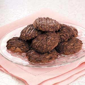 Triple-Chocolate Brownie Cookies Recipe
