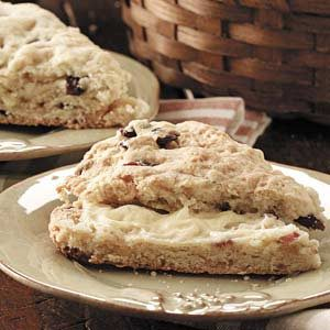 Buttery Cranberry Scones Recipe