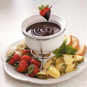Contest-Winning Mocha Fondue Recipe