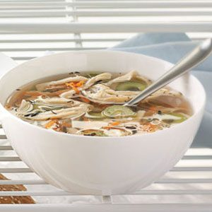 Cider Turkey Soup Recipe