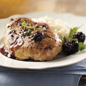 Blackberry Chicken Recipe