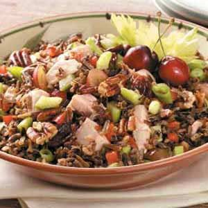 Turkey Wild Rice Salad Recipe photo by Taste of Home