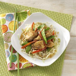 Turkey Stir-Fry with Cabbage Recipe