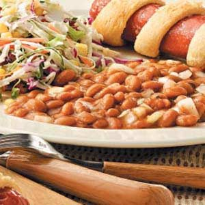 Sidesaddle Pork 'n' Beans Recipe