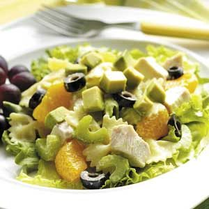 Chicken Pasta Salad a l'Orange
