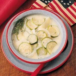 Zucchini/Potato Soup Recipe