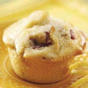 Rhubarb Lemon Muffins Recipe