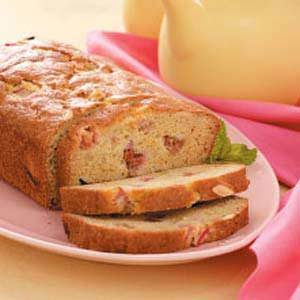Orange-Rhubarb Breakfast Bread Recipe