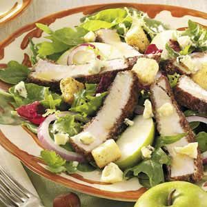 Honey-Mustard Turkey Salad Recipe