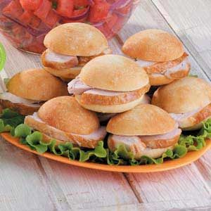Seasoned Turkey Sandwiches Recipe