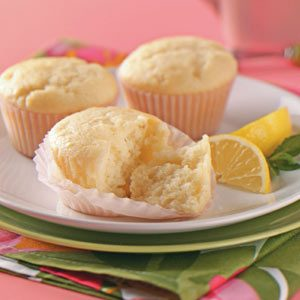 Lemon-Yogurt Tea Cakes