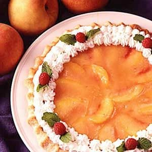 Glazed Peach Pie