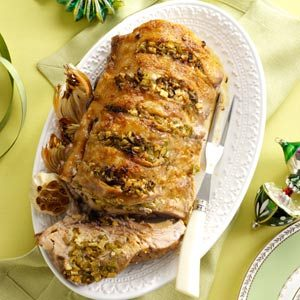 Mom's Garlic Pork Roast Recipe