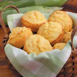 Sunny Corn Bread Muffins Recipe