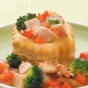 Turkey and Gravy Baskets Recipe