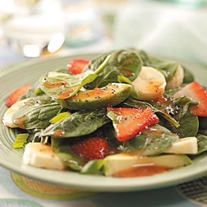 Spinach Salad with Fruit Recipe