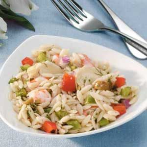 Shrimp Orzo Salad Recipe