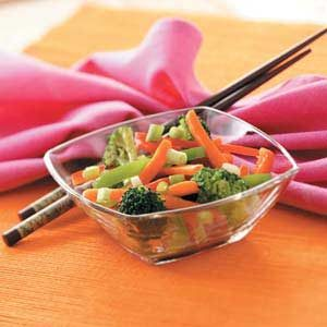 Quick Stir-Fried Vegetables Recipe