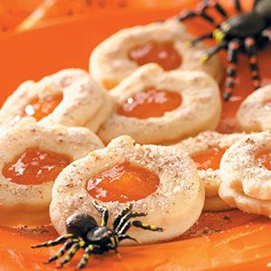 Cutout Pumpkin Sandwich Cookies Recipe