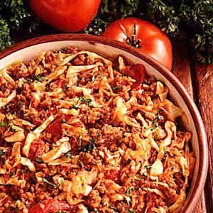 Cabbage Goulash Recipe