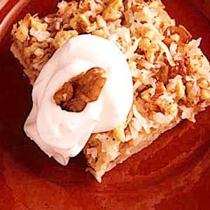 Apple Harvest Squares Recipe