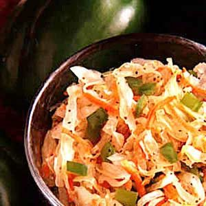 Quick Freezer Coleslaw Recipe
