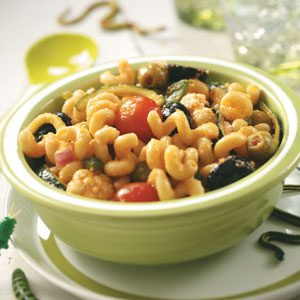 Creepy-Crawly Pasta Salad Recipe
