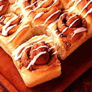 Cinnamon Potato Rolls Recipe
