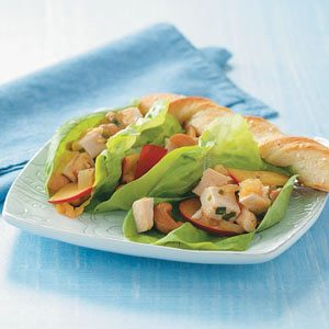 Plum Chicken Wraps Recipe
