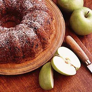 Country Apple Prune Cake