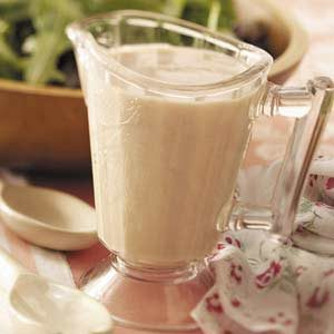 Mustard-Sour Cream Salad Dressing Recipe