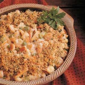 Bayou Country Seafood Casserole Recipe Taste Of Home