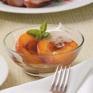 Broiled Fruit Dessert Recipe