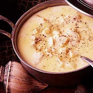 New england fish chowder recipe taste of home for New england fish chowder