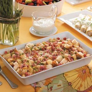 Wine and Swiss Strata Recipe